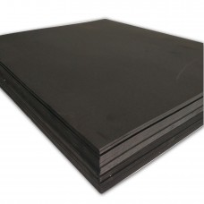 """3D Embroidery Puffy Foam Backing 15"""" x 18"""" x 3mm, 100 sheets - Black Color"""