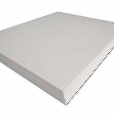 "100 sheets,15"" x 18"" x 3mm,White Color - 3D Embroidery Puff Foam Backing"