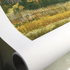 Aqueous Inkjet Printing Poly-Cotton Matte Art Canvas - 24 in x 40 ft - 1 Roll - Matte Finish - 3""