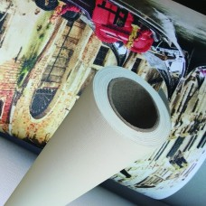 Aqueous Inkjet Printing Poly-Cotton Matte Art Canvas - 17 in x 40 ft - 1 Roll - Matte Finish - 3""