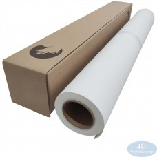 """Water-based Inkjet Printing Poly-Cotton Canvas - 44 in x 100 ft - 1 Roll - Matte Finish - 3"""""""