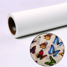"Front Inkjet Printing Backlit PET Film,8mil,Double-Sided Matte,for Eco-Solvent,Latex,UV Ink,50 in x 100 ft,3"" Core"