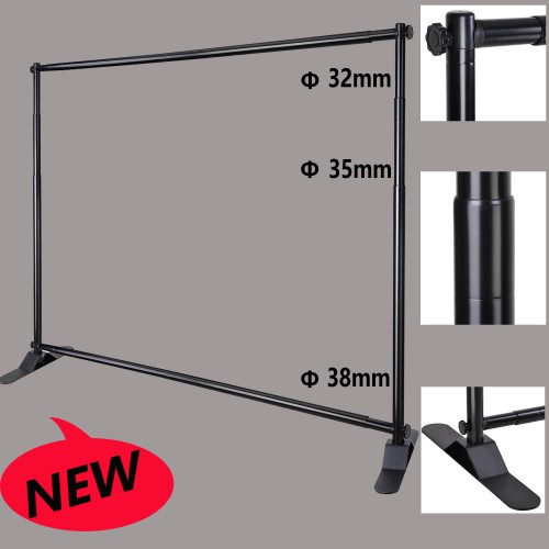8 X10 Heavy Duty Telescopic Step And Repeat Banner
