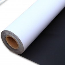 "Printable Magnetic Vinyl,Matte,21.6mil,for Eco-Solvent,Latex,UV Ink,50 in x 66 ft,3"" Core"