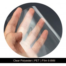 """Clear Polyester Film 51 ⅕""""x165ft. Roll 9.8mil"""