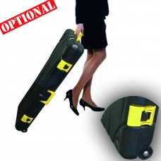 """Hard Plastic Carrying Case with wheels for 33 ½"""" Deluxe Retractable Banner Stand"""