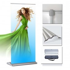 "48"" x 70~96""(H) Classical Deluxe  Retractable Banner Stand"