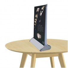 """11-1/2"""" x 17""""( A3 ) Double-Sided Mini Table Top Retractable Banner Stand"""