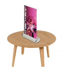 "8.5"" x 11.5""(A4) Mini Table Top Retractable Banner Stand"