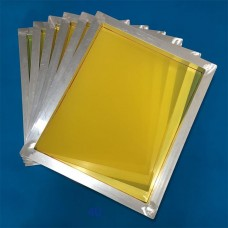 "20""x24"" Screen Printing Frame 230 Mesh - Yellow"