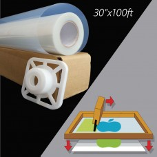 Waterproof Inkjet  Instant Dry Transparency Film 5mil,30 in x 100 ft / Roll