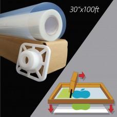 Waterproof Inkjet  Instant Dry Transparency Film 5mil,30 in x 100 ft / Roll