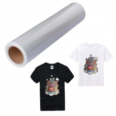 "Printable Heat Transfer Vinyl 24""x50ft(0.61x15m), great for all color T-shirt and fabric"