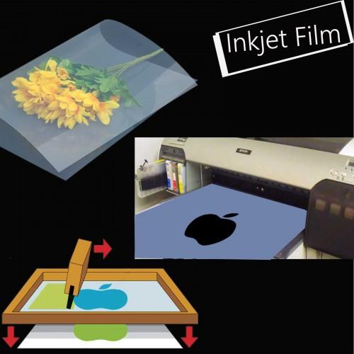 Waterproof Inkjet Instant Dry Transparency Film for Silk