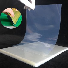 Waterproof Inkjet Instant-Dry Transparency Film for Silk Screen Printing 5 mil,8 ½ x 11 inches (100 sheets)