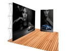 Pop-up Tension Fabric Backdrop Frame