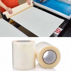 "Screen Printing Pallet and Platen Clear Tape 12""x50yds / 148ft"