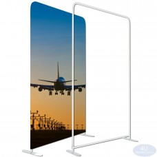 "4 x 7 ½ft EZ Tube Tension Fabric Display Frame 48""x90""(WxH)(Hardware Only)"