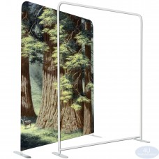 "5 x 7 ½ft EZ Tube Tension Fabric Display Frame 60""x90""(WxH)(Hardware Only)"