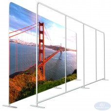 7 ½  x 20ft EZ Tube Large Format Straight Backdrop Display Frame (HxW)(Hardware Only)