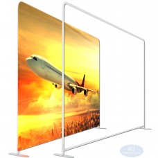 7 ½ x 8ft EZ Tube Large Format Straight Backdrop Display Frame (HxW)(Hardware Only)