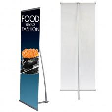 "24""x63"",Premium L Banner Stand(60cm x 160cm)"