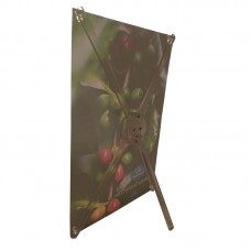 "8.3"" x 12""(A4)  Table Top X Banner Stand"