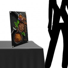 """8 ½"""" x 11 ½""""(A4)  Mini Table Top X Banner Stand"""