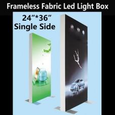 "Slim Single-sided Fabric Led Light Box 24""*36"""