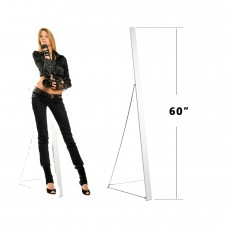 "Foam Board Poster Stand Sign Holder Metal Adjustable Angle Tripod  Support 60"" ( ONLY DISPLAY HARDWARE )"